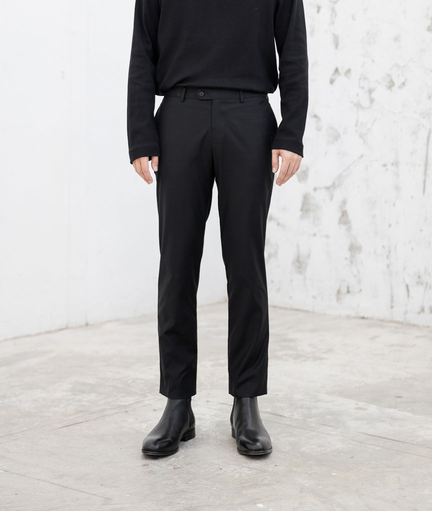 Black - chino trousers