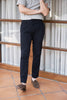 Navy single trousers with 2 button