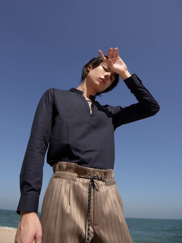Sand stripe - gusset Phil trousers