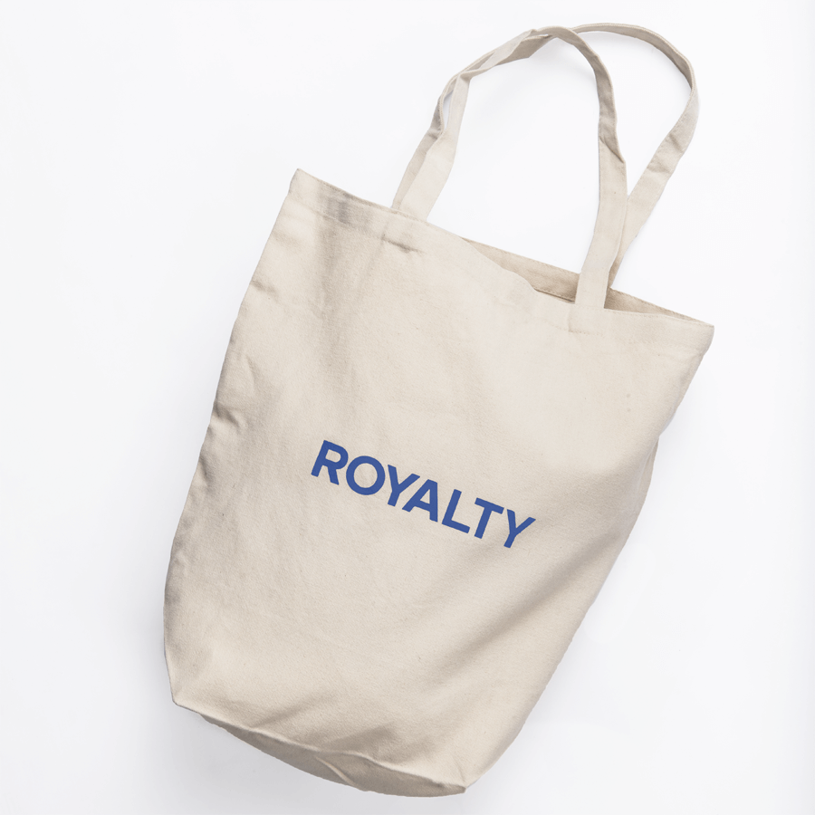 TOTEBAG - ROYAL BLUE