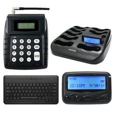 Driver Call System - Transmitter and Twenty Alpha Pagers