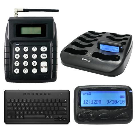 Driver Call System - Transmitter and Ten Alpha Pagers
