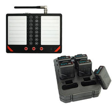 16 Button Call Unit & 10 Pagers A1