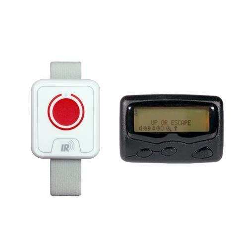 Wristband Panic Button & Text Pager
