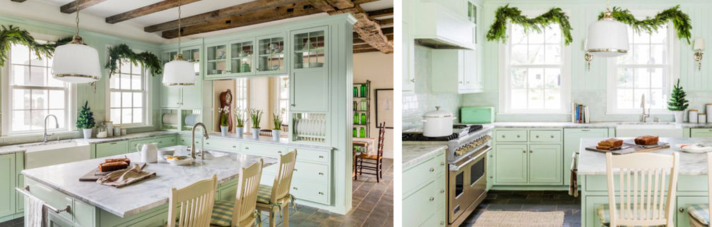Get the Look for Less: Mint Farmhouse