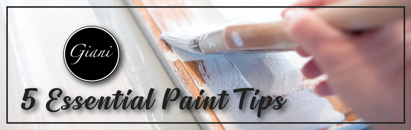 Giani's 5 Essential Paint Tips
