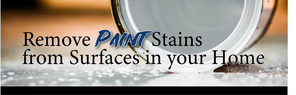 Guest Blog with Erin Austin: Removing Paint Stains from Surfaces in your Home