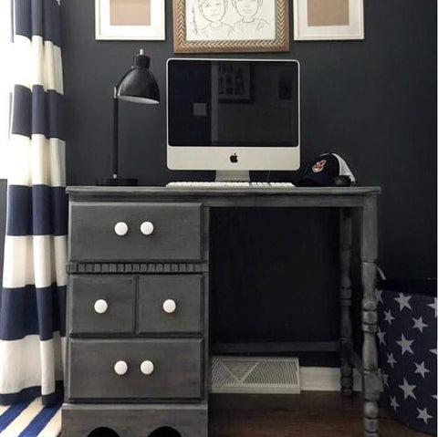 Chalkworthy Cast Iron Painted Desk