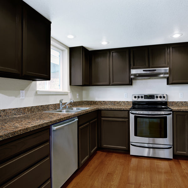 Brown Painted Kitchen Cabinets: Giani Countertop Paint Gallery