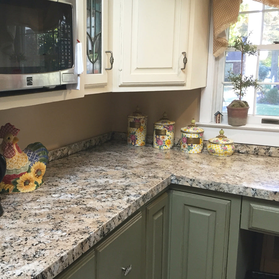 Charmant Giani Sicilian Sand Painted Kitchen Countertops