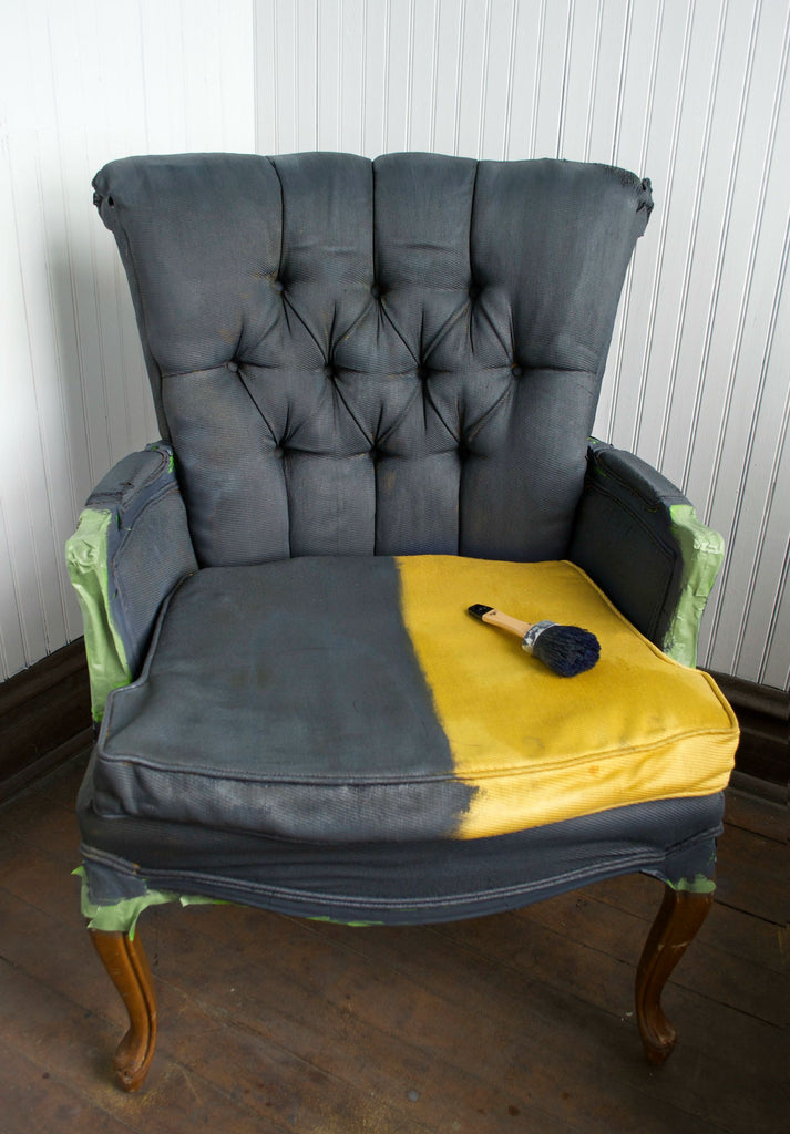 DIY Fabric Chair Makeover... With Paint! – Giani Inc.