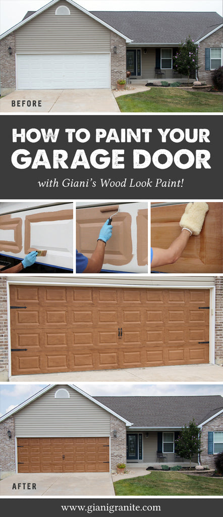 How to paint your garage door to look like wood! – Giani Inc. Paint Garage Door To Look Like Wood on garage door stain diy, garage floor coating options, garage with entry door, garage door faux wood paint on metal, garage door trim, log homes garage doors wood, garage door painted like wood, garage door spray-paint,