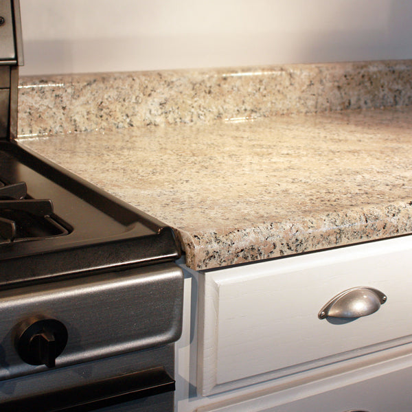 Giani Sicilian Sand Painted Kitchen Countertop Detail