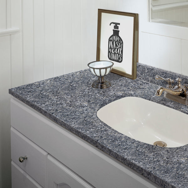 Giani Slate Painted Vanity Countertop Detail