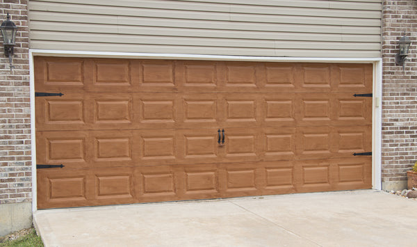 How To Paint Your Garage Door To Look Like Wood Giani Inc