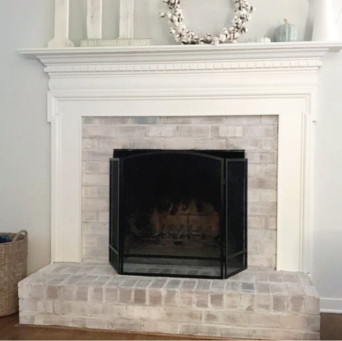 Giani Brick Transformations Fireplace Makeover