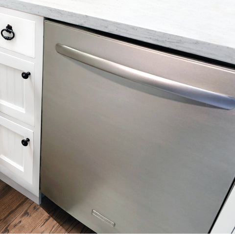 Liquid Stainless Steel Dishwasher Makeover