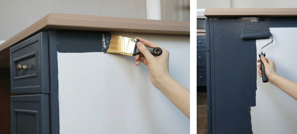 How to paint your cabinets the easy way with Nuvo Cabinet Paint kits