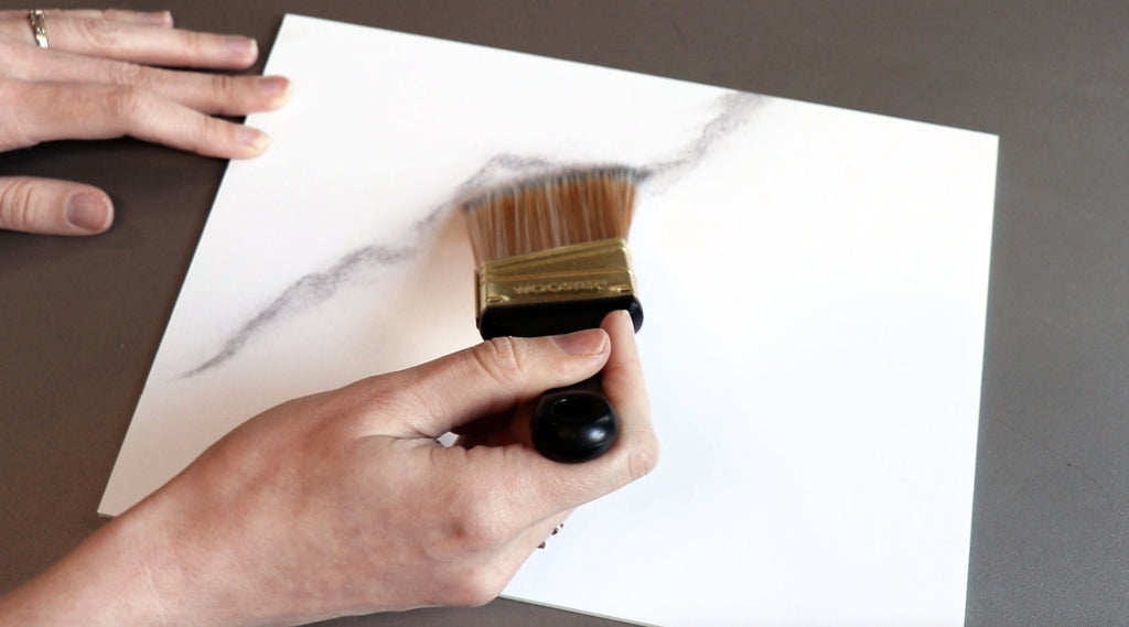 Giani Marble Countertop Paint practice board