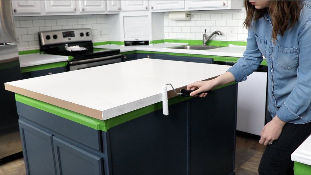 Priming for DIY Marble Countertops - Giani countertop paint kits