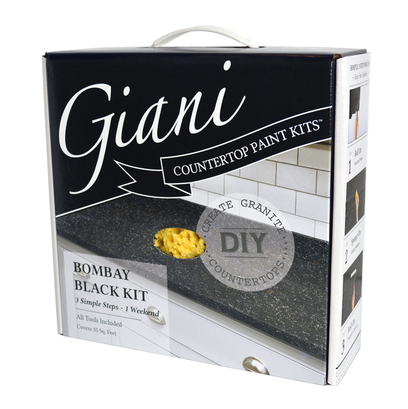 Giani Bombay Black Countertop Paint Kit