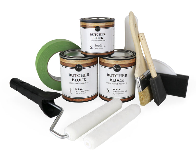 Giani Butcher Block Countertop Paint Kit