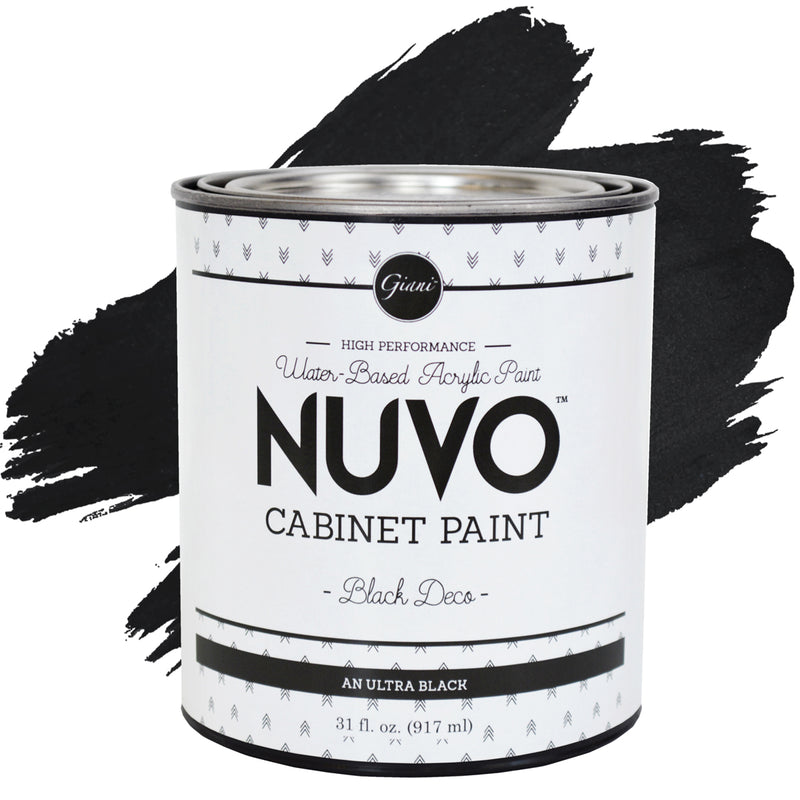Nuvo Black Deco Cabinet Paint