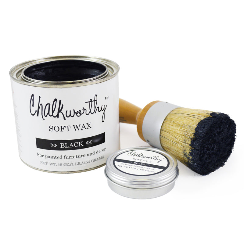 Chalkworthy Black Soft Wax