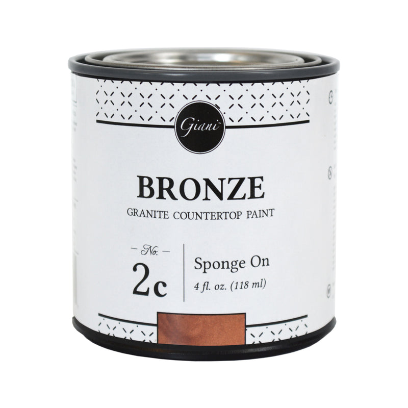 Bronze Mineral for Giani Countertop Paint Kits Step 2C