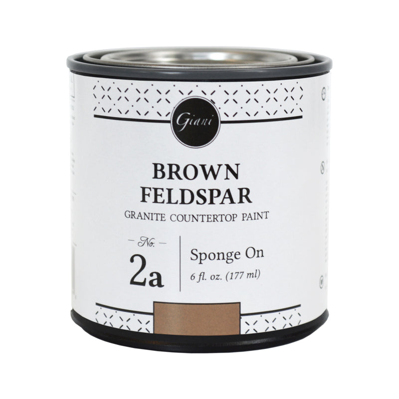 Brown Feldspar Mineral for Giani Countertop Paint Kits Step 2A