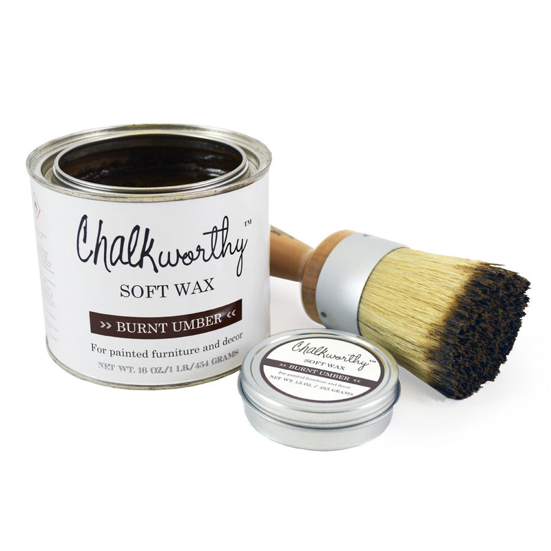 Chalkworthy Burnt Umber Soft Wax