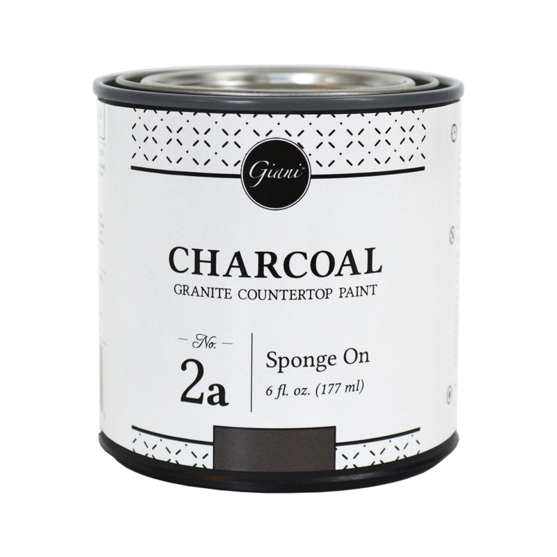 Charcoal Mineral for Giani Countertop Paint Kits Step 2A
