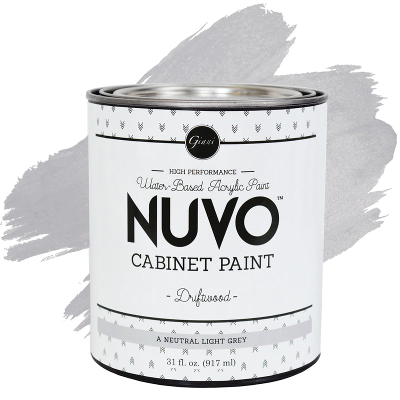 Nuvo Driftwood Cabinet Paint