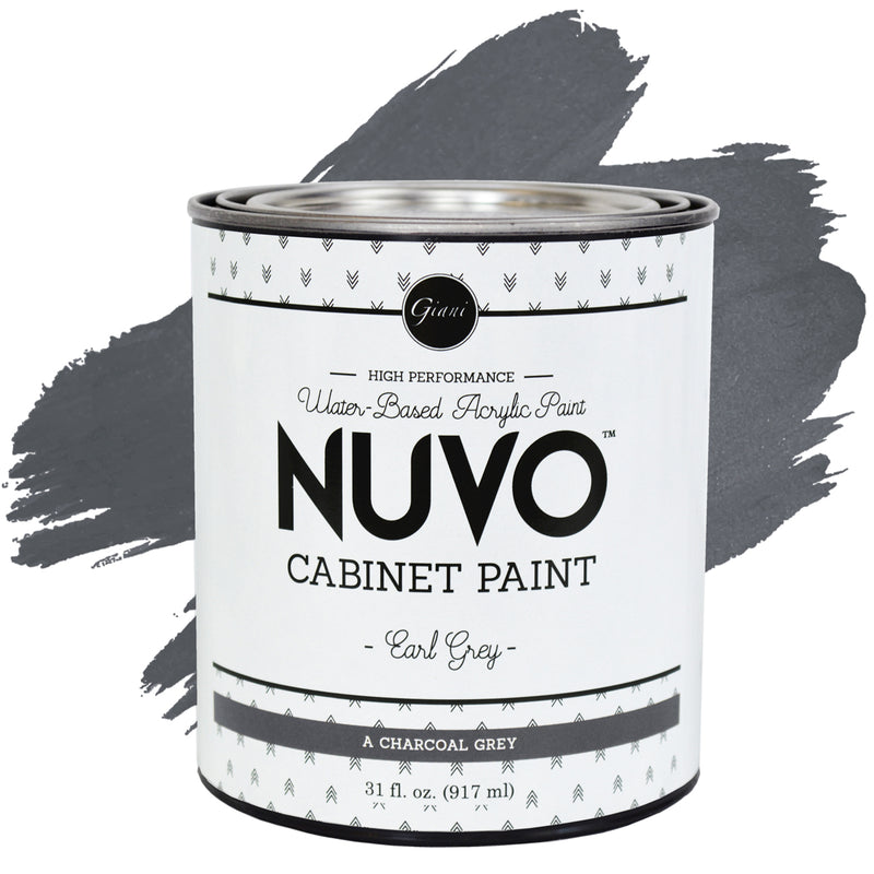 Nuvo Earl Grey Cabinet Paint