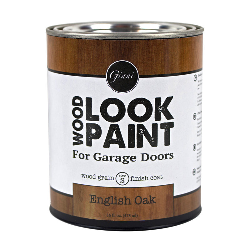 Giani English Oak Wood Look Grain Finish Coat for Garage Doors