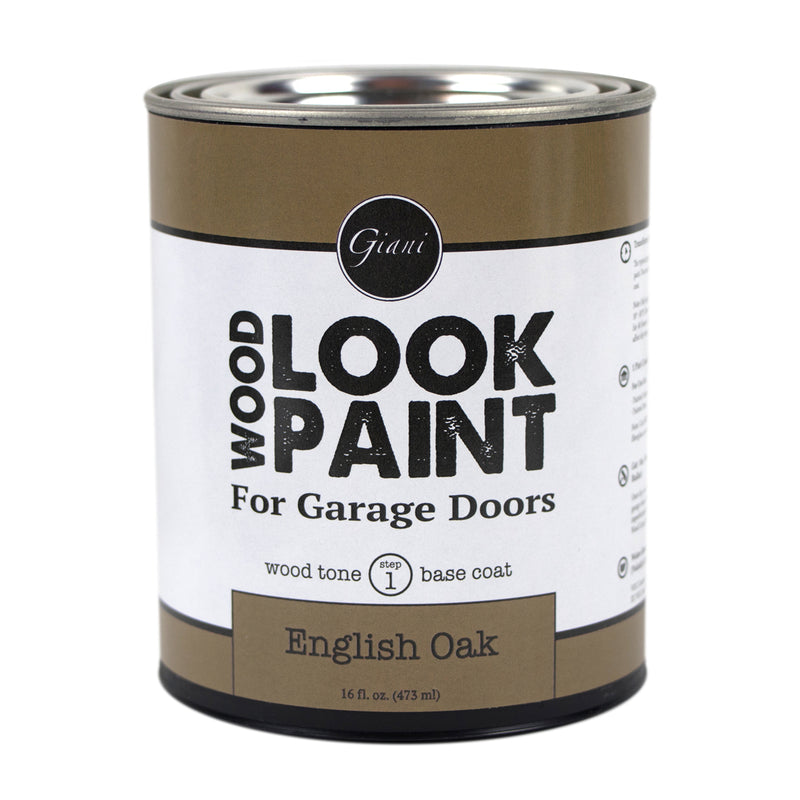 Giani English Oak Wood Look Tone Base Coat for Garage Doors