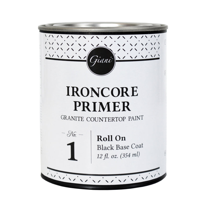 IronCore Primer for Giani Countertop Paint Kits Step 1