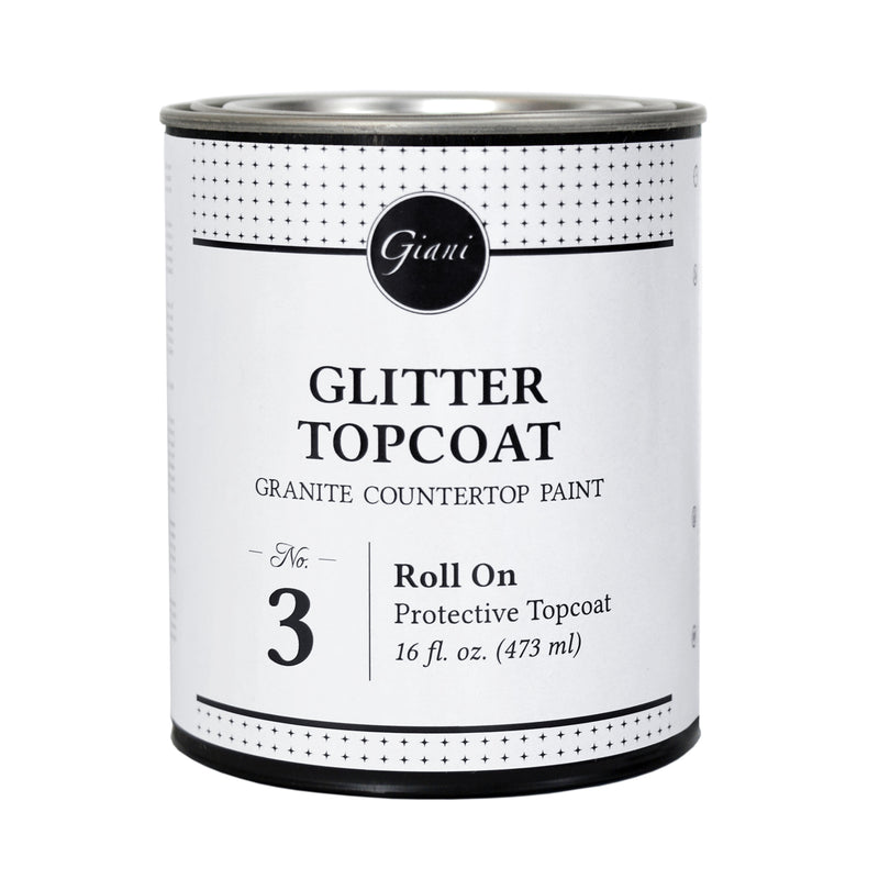 Glitter Topcoat for Giani Countertop Paint Kits