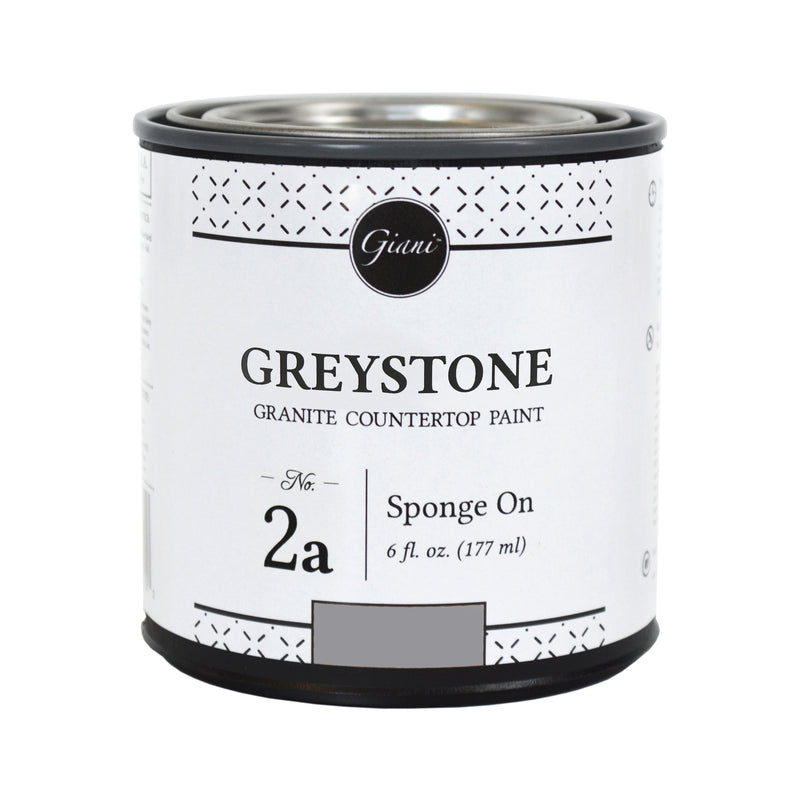 Greystone Mineral for Giani Countertop Paint Kits Step 2A