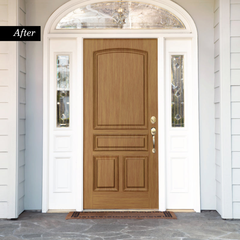 Giani Honey Oak Wood Look Kit for Front Doors