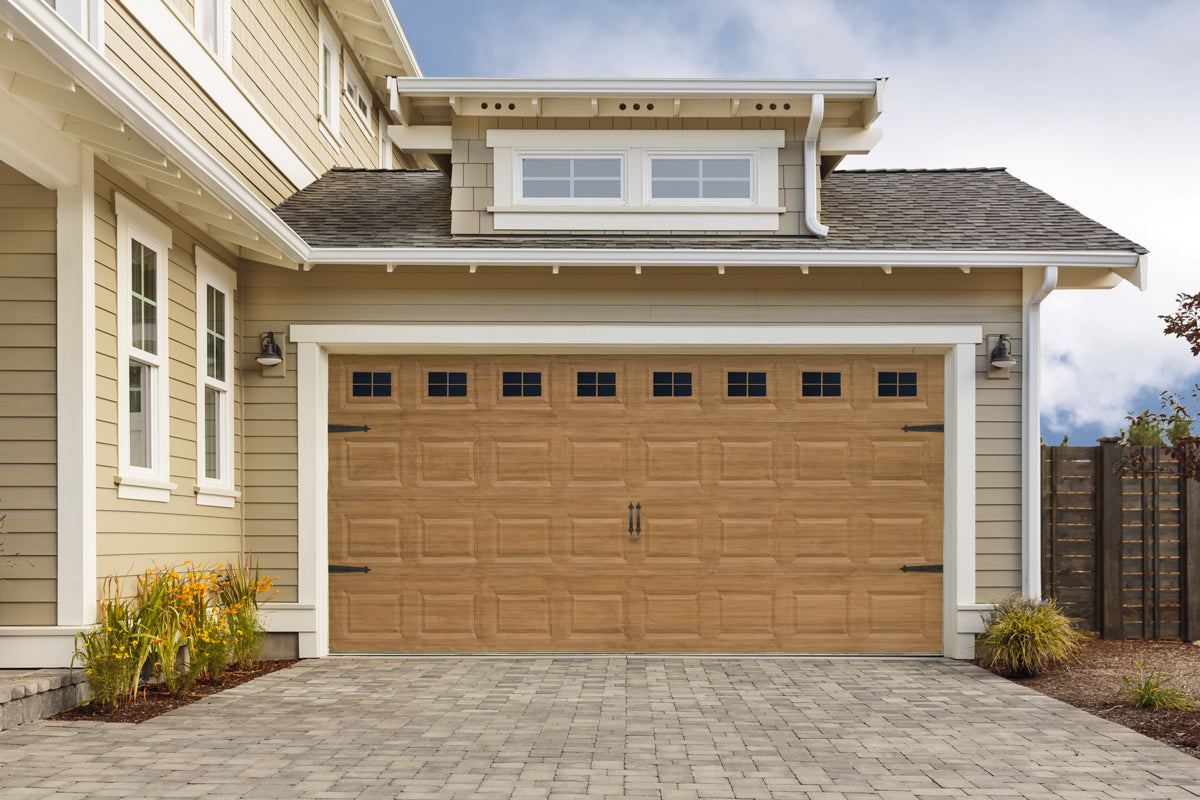 garage door windowsDecorative Magnetic Garage Door Window Panes  Giani Inc
