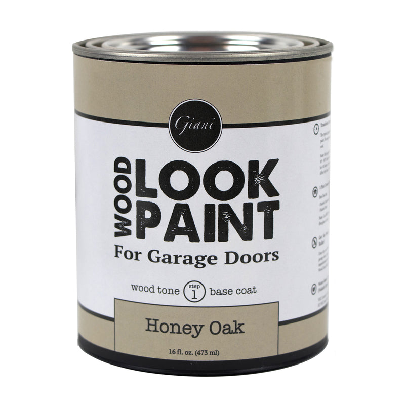 Giani Honey Oak Wood Look Tone Base Coat for Garage Doors