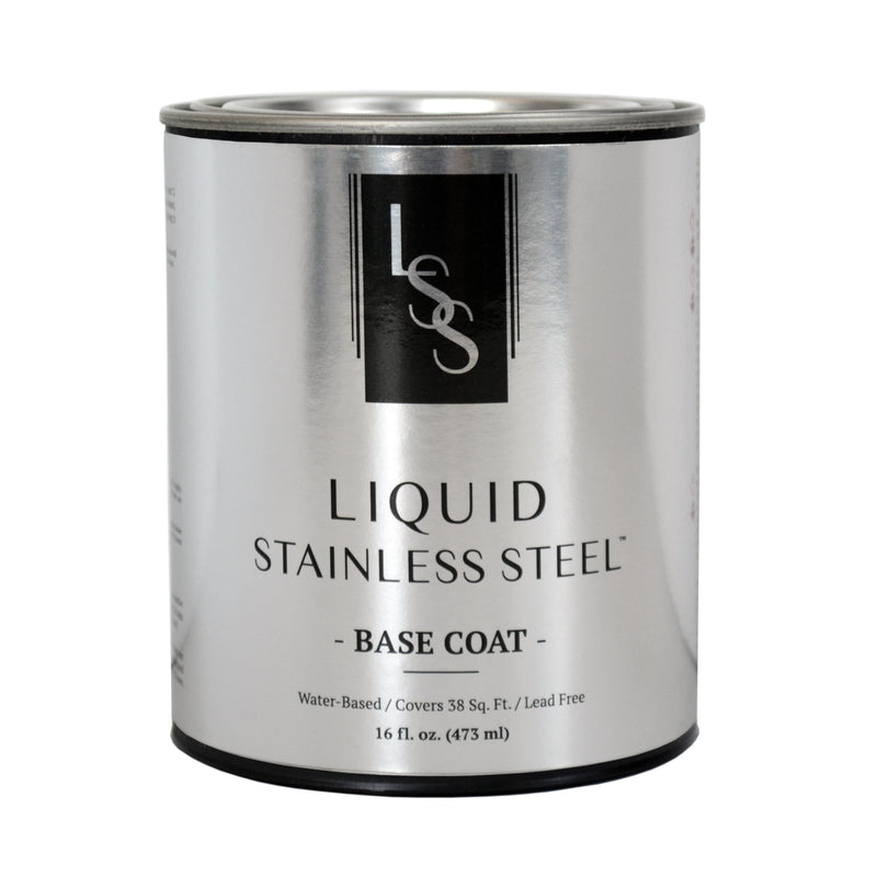 Liquid Stainless Steel Base Coat 16oz.