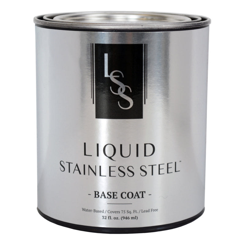 Liquid Stainless Steel Base Coat 32oz.