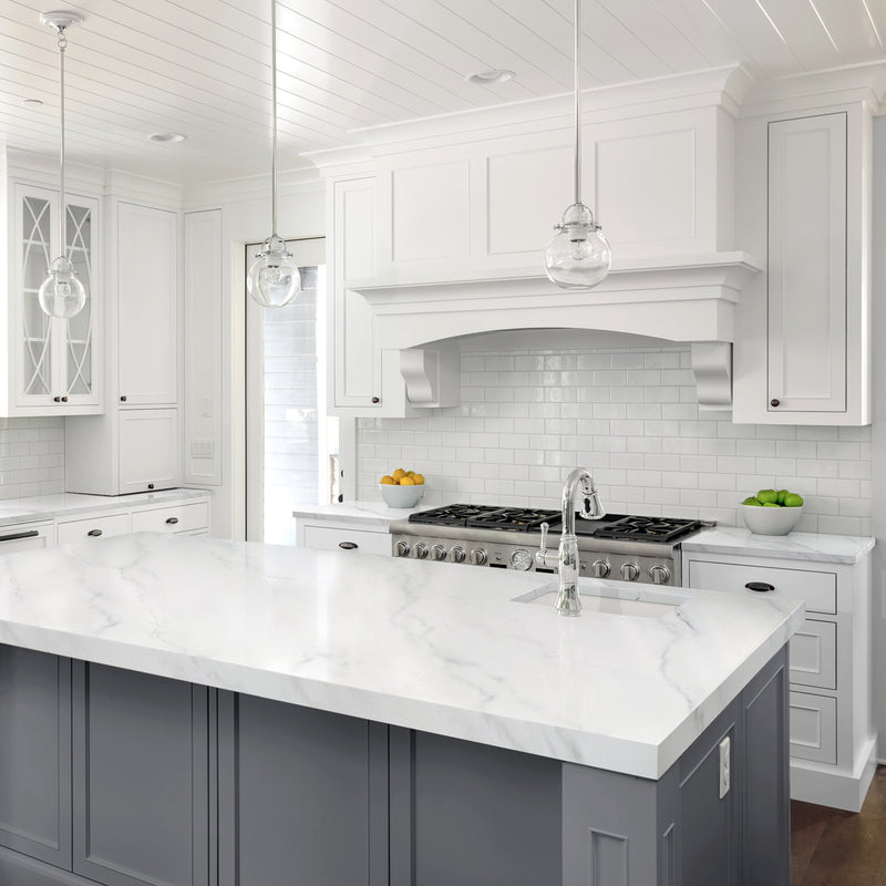 White Kitchen Cabinets With White Marble Countertops: Giani Marble Countertop Paint Kit