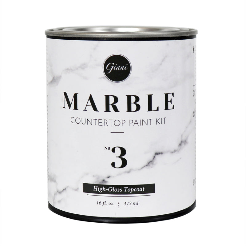 High-Gloss Topcoat for Giani Marble Countertop Paint Kit (Step 3)
