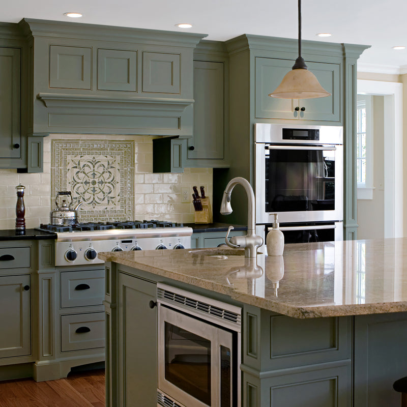 Green Kitchen Units Sage Green Paint Colors For Kitchen: Nuvo Old Sage Cabinet Paint