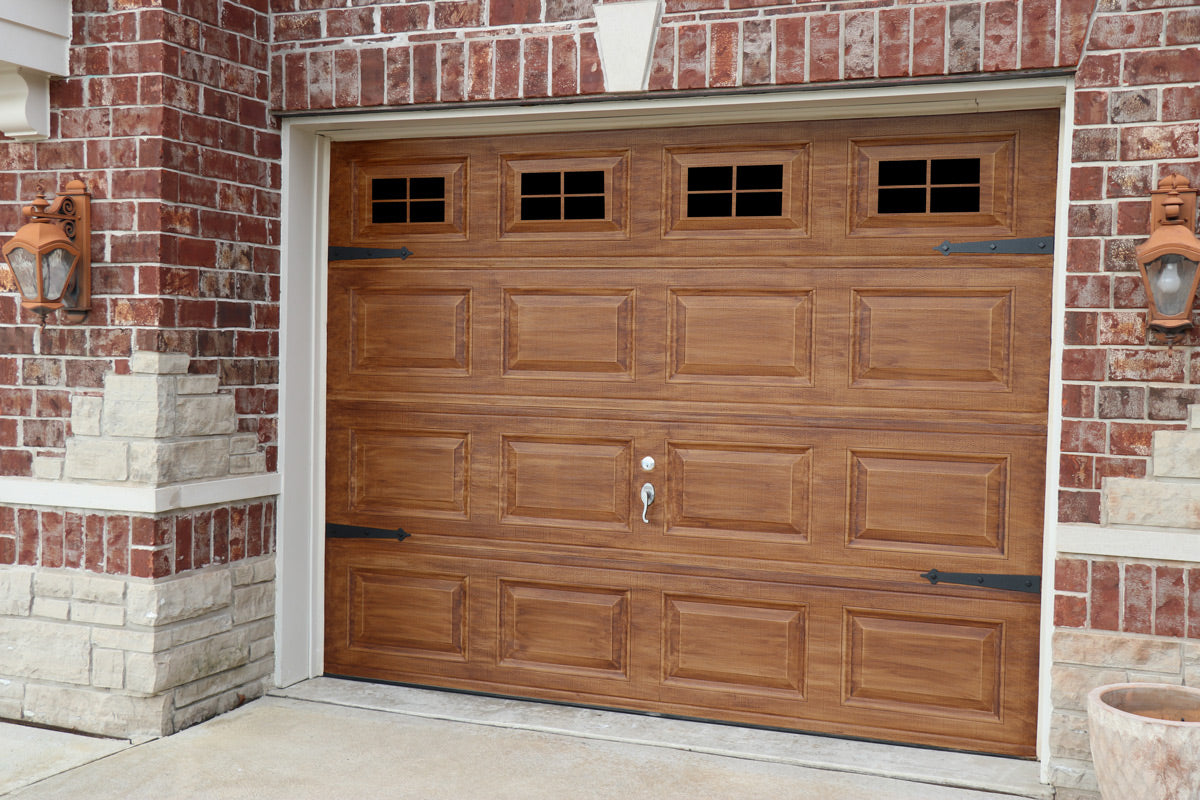door paint curb makeover to grain garage by how wood appeal cottag doors cottage project the