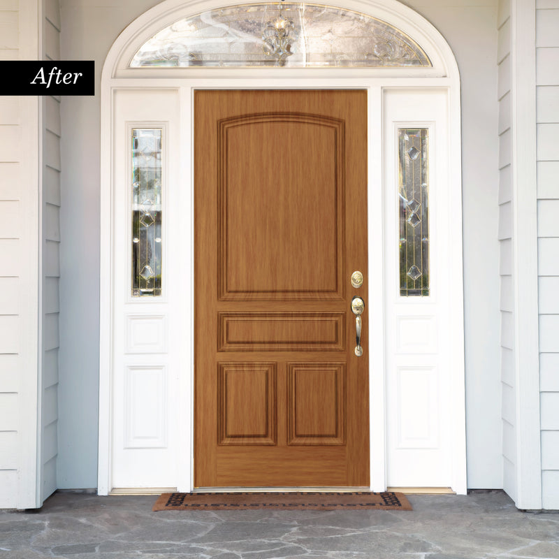 Giani Red Oak Wood Look Kit for Front Doors