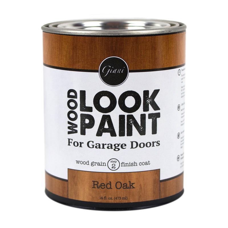 Giani Red Oak Wood Look Grain Finish Coat for Garage Doors